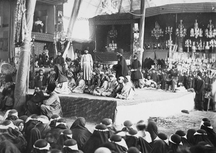 Image result for ناصرالدین شاه محرم